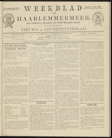 Weekblad van Haarlemmermeer 1886-05-15