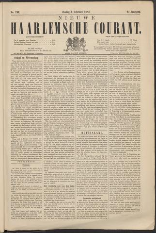 Nieuwe Haarlemsche Courant 1884-02-03