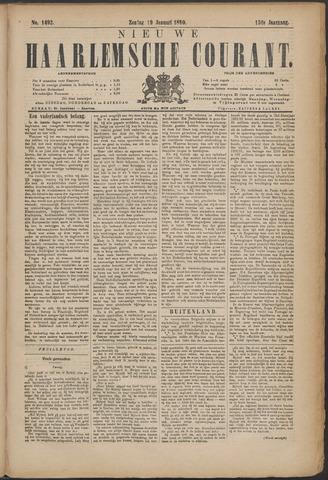 Nieuwe Haarlemsche Courant 1890-01-19