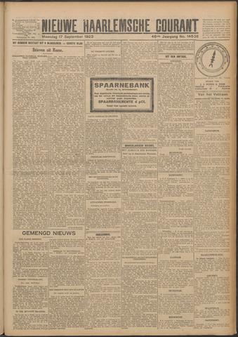 Nieuwe Haarlemsche Courant 1923-09-17