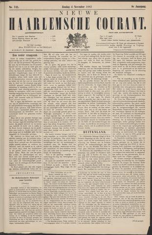 Nieuwe Haarlemsche Courant 1883-11-04