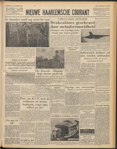 Nieuwe Haarlemsche Courant 1954-10-20