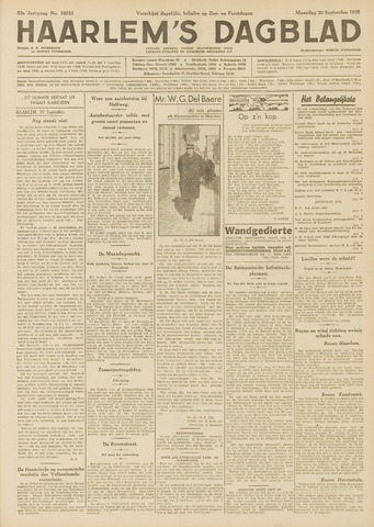 Haarlem's Dagblad 1935-09-30