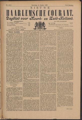 Nieuwe Haarlemsche Courant 1897-10-21