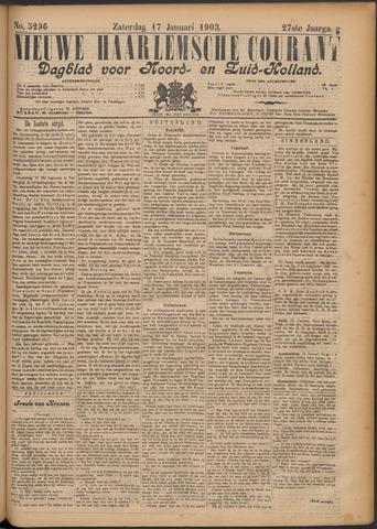 Nieuwe Haarlemsche Courant 1903-01-17