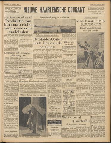 Nieuwe Haarlemsche Courant 1957-01-15