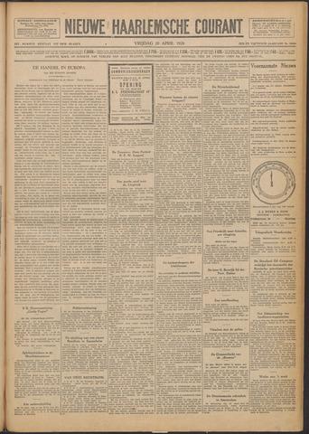 Nieuwe Haarlemsche Courant 1928-04-20