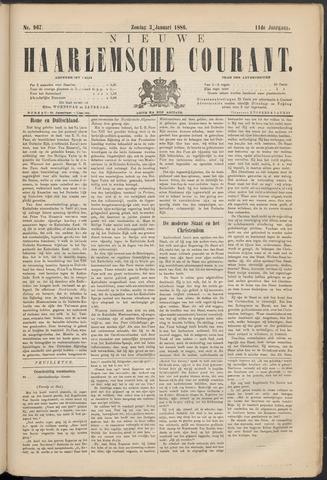 Nieuwe Haarlemsche Courant 1886