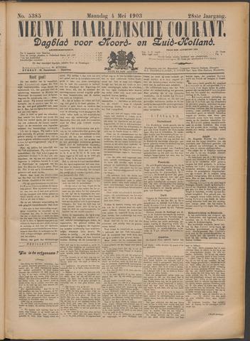 Nieuwe Haarlemsche Courant 1903-05-04