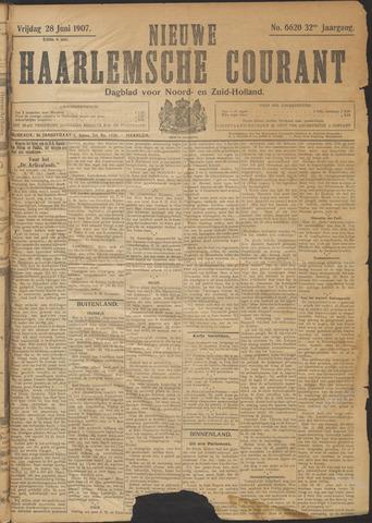 Nieuwe Haarlemsche Courant 1907-06-28