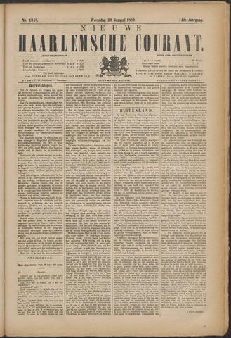 Nieuwe Haarlemsche Courant 1889-01-30