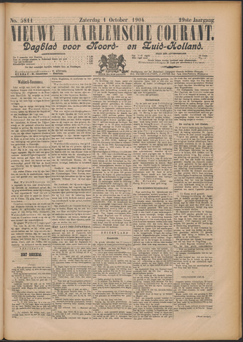 Nieuwe Haarlemsche Courant 1904-10-01