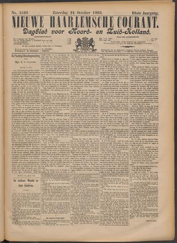 Nieuwe Haarlemsche Courant 1903-10-24