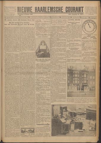 Nieuwe Haarlemsche Courant 1925-10-14