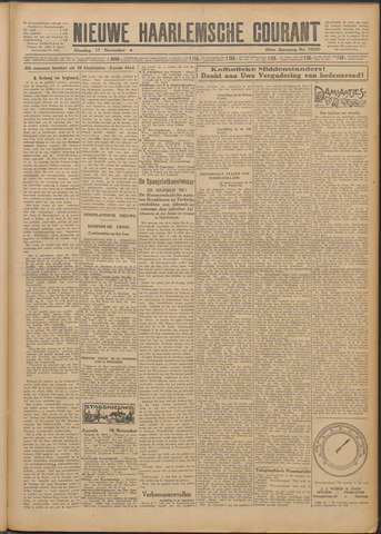 Nieuwe Haarlemsche Courant 1925-11-17