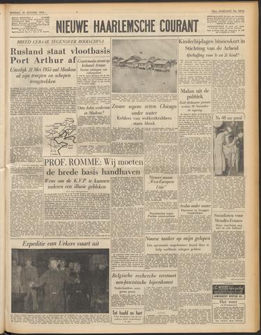 Nieuwe Haarlemsche Courant 1954-10-12
