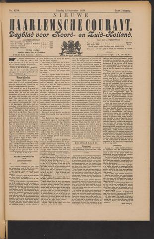 Nieuwe Haarlemsche Courant 1899-09-12