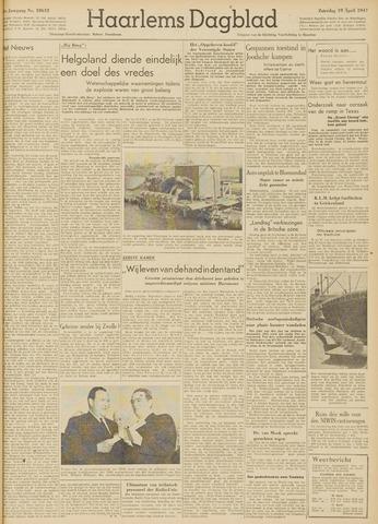 Haarlem's Dagblad 1947-04-19