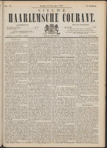 Nieuwe Haarlemsche Courant 1877-11-11