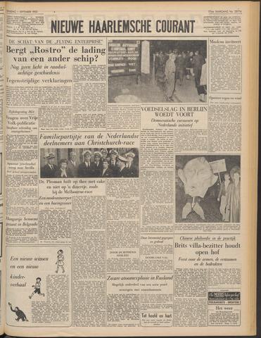 Nieuwe Haarlemsche Courant 1953-09-01