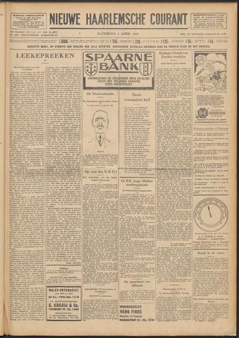 Nieuwe Haarlemsche Courant 1930-04-05