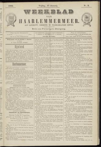 Weekblad van Haarlemmermeer 1882-01-13