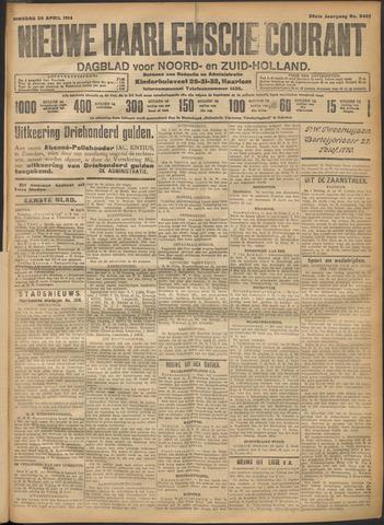 Nieuwe Haarlemsche Courant 1914-04-28