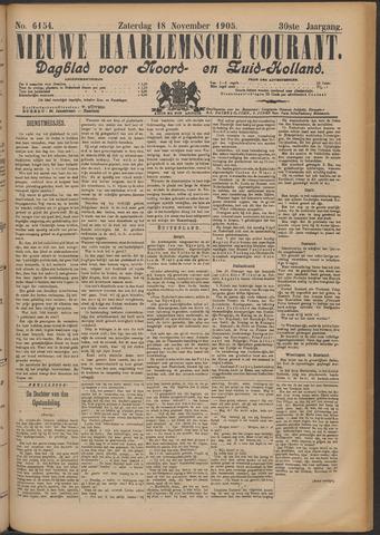 Nieuwe Haarlemsche Courant 1905-11-18