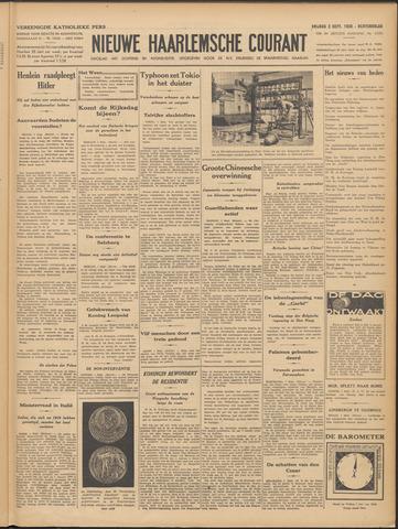 Nieuwe Haarlemsche Courant 1938-09-02