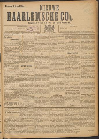 Nieuwe Haarlemsche Courant 1906-09-04
