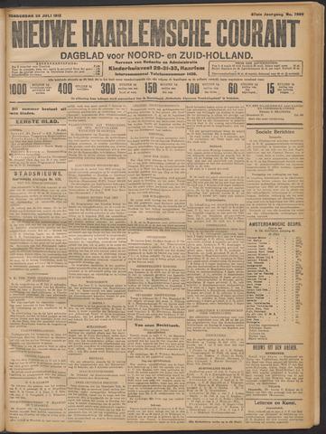 Nieuwe Haarlemsche Courant 1912-07-25