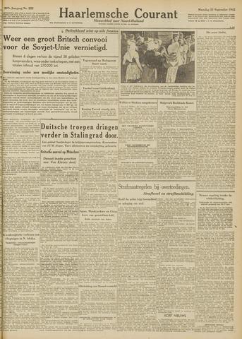 Haarlemsche Courant 1942-09-21