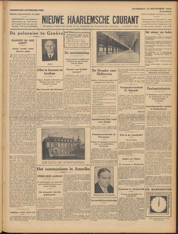 Nieuwe Haarlemsche Courant 1934-09-15