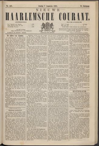 Nieuwe Haarlemsche Courant 1881-08-07