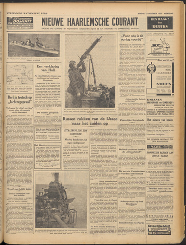 Nieuwe Haarlemsche Courant 1939-12-19