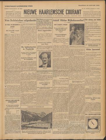 Nieuwe Haarlemsche Courant 1933-01-30