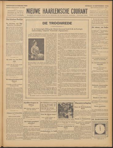 Nieuwe Haarlemsche Courant 1933-09-19