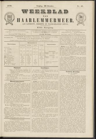 Weekblad van Haarlemmermeer 1870-10-28