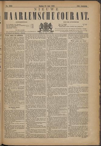 Nieuwe Haarlemsche Courant 1893-06-25