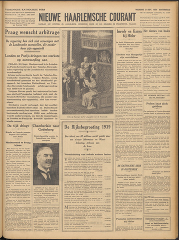 Nieuwe Haarlemsche Courant 1938-09-21