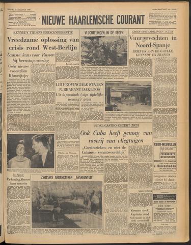 Nieuwe Haarlemsche Courant 1961-08-11