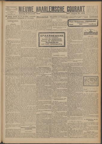 Nieuwe Haarlemsche Courant 1923-12-15
