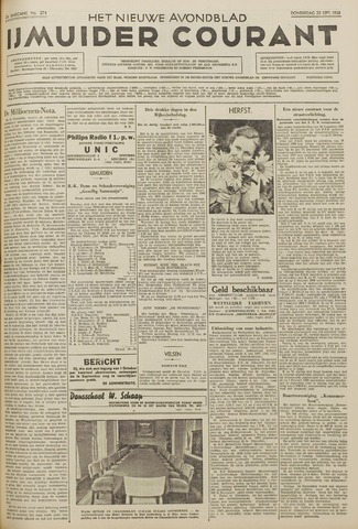 IJmuider Courant 1938-09-22