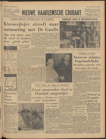 Nieuwe Haarlemsche Courant 1963-02-04