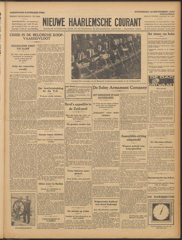 Nieuwe Haarlemsche Courant 1934-09-12