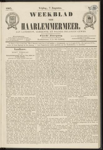 Weekblad van Haarlemmermeer 1863-08-07