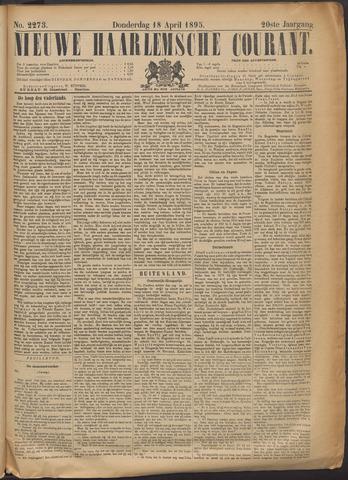 Nieuwe Haarlemsche Courant 1895-04-18