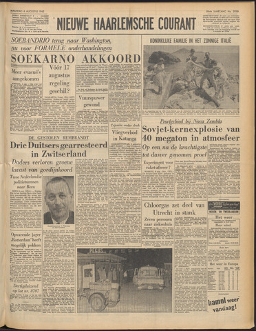 Nieuwe Haarlemsche Courant 1962-08-06