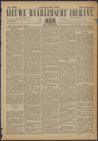Nieuwe Haarlemsche Courant 1894-05-06