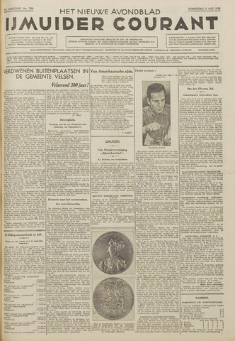 IJmuider Courant 1938-08-11